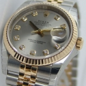 Rolex DateJust Slate Grey DIAMOND
