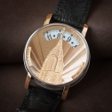 Andersen Geneve Montre A Tact Or Gris Chrysler