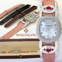 Patek Philippe Lady's Golden Ellipse with Ruby Heart Lugs