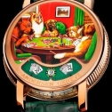 Andersen Geneve Montre A Tact Or Rose Poker