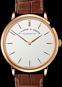 Saxonia Thin Pink Gold