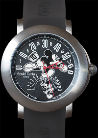 Bi-Retro Mickey Mouse Titanium